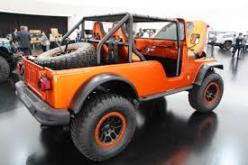 orange jeep cj seven concept jeeps you will definitely see at easter jeep safari