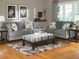 l shape sofa white staircase decorating grey living room walls
