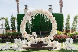 wedding ceremony arch 18 circle ceremony arch wedding decoration ideas pretty my party