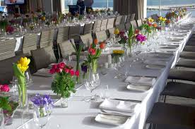 banquet table decorations photos banquet table decorations brightly coloured flowers fresh herbs