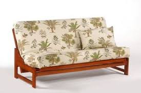 futon frame solid wood eureka futon sofa bed frame full or queen