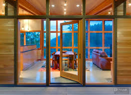 custom wood doors hinged dynamic architectural