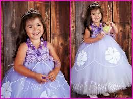 Princess Sofia Halloween Costume Sofia Inspired Tutu Dress Sophia Lavender Tutu Dress