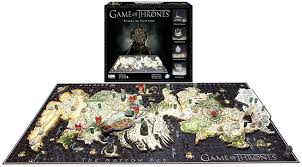 Map Of Essos Amazon Com 4d Cityscape Game Of Thrones Westeros Puzzle Toys