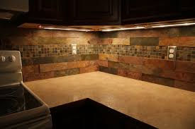 Kitchen Backsplash Ideas For Dark Cabinets Kitchen Sealing Slate Kitchen Backsplash Latest Ideas Pic Slate
