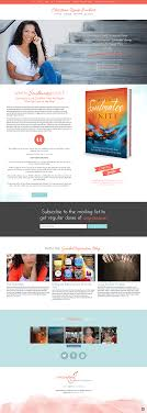 s website outbox online book author website design