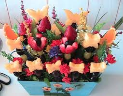 fruit flower arrangements edible arrangements fruit arrangements how to from