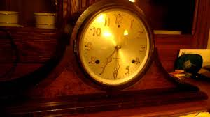 Antique Mantel Clocks Value Gilbert 1807 Mantle Clock Half Hour Chime Youtube