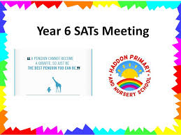 year 6 sats meeting aims to understand the changes to ks2 sats to