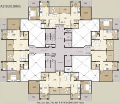 Floor Plan Of Bank by Kolte Patil Umang Premiere In Wagholi Pune Price Location Map