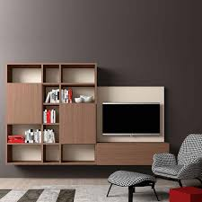 Wall Tv Cabinet Design Italian Italian Design Tv Media Unit U0027minimalist 3 U0027 By Morassutti