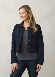 dree jacket button up soft stretch denim jacket prana