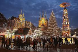 wish family and friends merry christmas and happy new year in german