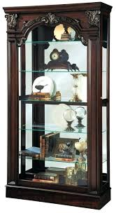 corner curio cabinets for sale contemporary curio cabinets miller silver reclaimed finish modern