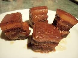 cuisiner poitrine de porc le canard du mékong le porc du poète dong po