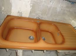 evier de cuisine en gres achetez évier marron clair occasion annonce vente à écueillé 36