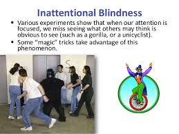 Inattentional Blindness Example Appel Psy 150 403 Chapter 3 Slides
