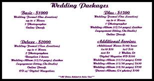 wedding planner packages wedding photography package prices and variety wedding theme