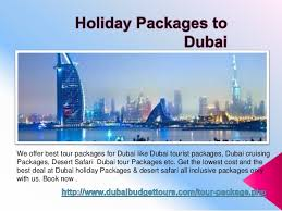 cheap packages to dubai from dubai budget tours