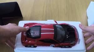 toy ferrari model cars unboxing the 458 challenge ferrari model car youtube