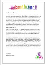 ideas of introduction letter from teacher to parents for your