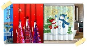 christmas shower curtains u2013 teawing co
