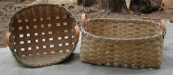 wicker basket with leather handles baskets kindling u0026 laundry