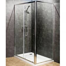 Shower Doors 1000mm by Seis 1000mm Glass Sliding Door Shower Enclosures Direct