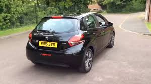 peugeot 208 2016 peugeot 208 xs lime black 2016 ro16evd youtube