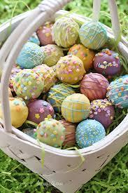 easter egg basket easter egg cake balls skinnytaste