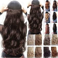 clip extensions local post 18 28 inches curly wavy one clip in on
