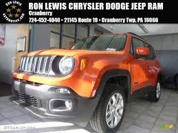 jeep renegade orange interior 2015 omaha orange jeep renegade latitude 4x4 102378637 photo 11