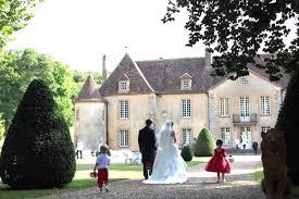 location salle de mariage location de salle de réception en bourgogne château de bois le