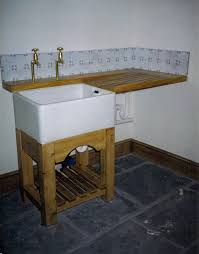utility sink stand befon for