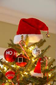 24 day countdown santa tree and ornaments to make tree toppers