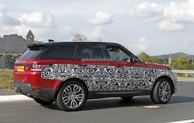 land rover sport custom 2017 range rover sport facelift spied inside u0026 out autoevolution