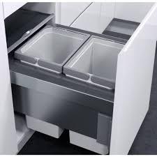 liner for kitchen cabinets vauth sagel oko liner 20l pull out bin for 400mm door u2013 binopolis