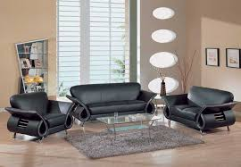 Leather Sofa Design Living Room by Black Living Room Furniture To Create Your Own Style Home