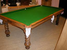American Pool Dining Table Slate Bed Pool Dining Table
