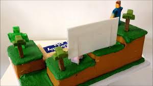 minecraft cake youtube