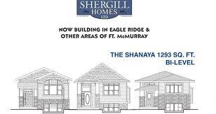 bi level the shanaya 1293 sq ft bi level shergill homes