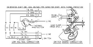 ge run capacitor wiring diagram wiring diagrams