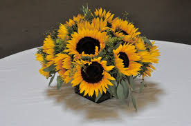 sunflower centerpiece centerpieces for weddings and special events