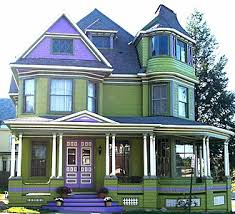Victorian Cottage For Sale by Home Accented In Purple For Sale In New York