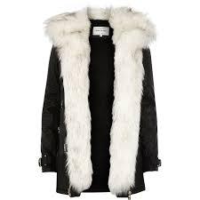 faux fur coats river island tradingbasis
