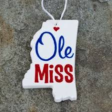 wooden state of mississippi with ole miss logo on etsy 110 00