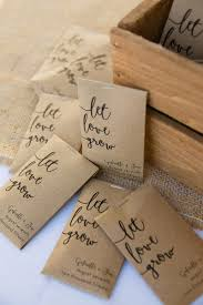 flower seed wedding favors coastal connecticut seaport wedding modern calligraphy seed