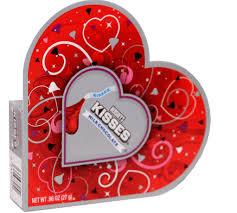 chocolate heart candy hershey s kisses mini chocolate heart box