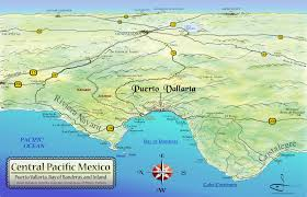 Southern Mexico Map by Mapa Jeff Cartography Central Pacific Mexico Maps