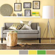 interior color schemes yellow green spring decorating spring